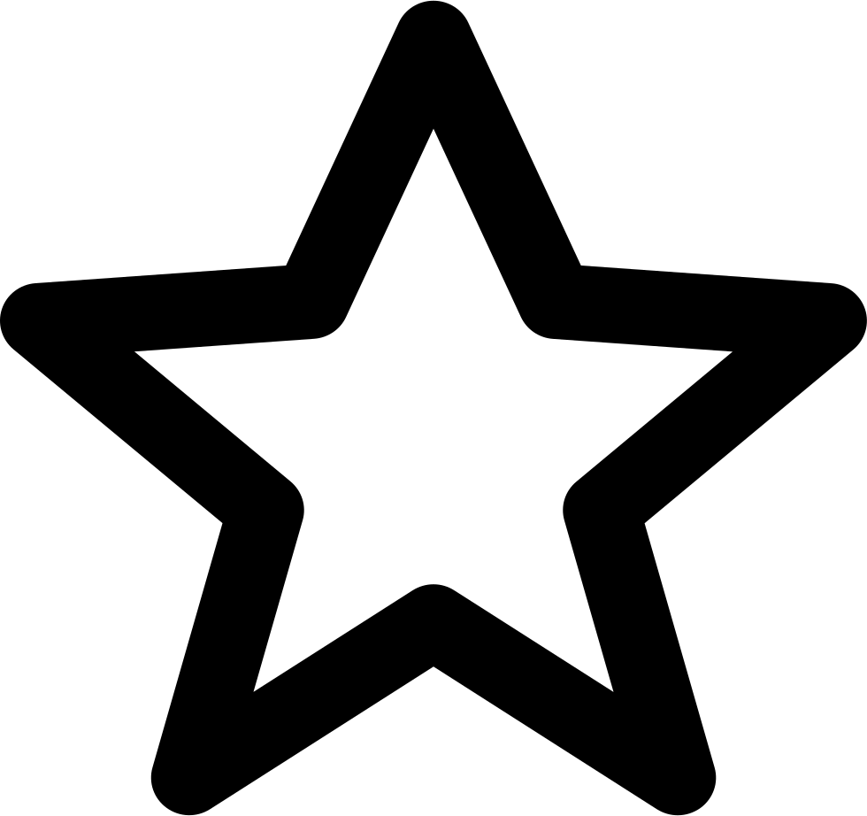 Svg star line. Png icon free download