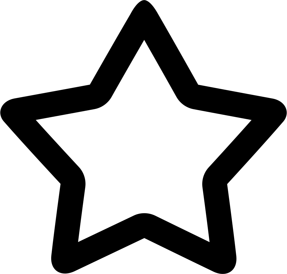 Svg star rustic. O png icon free