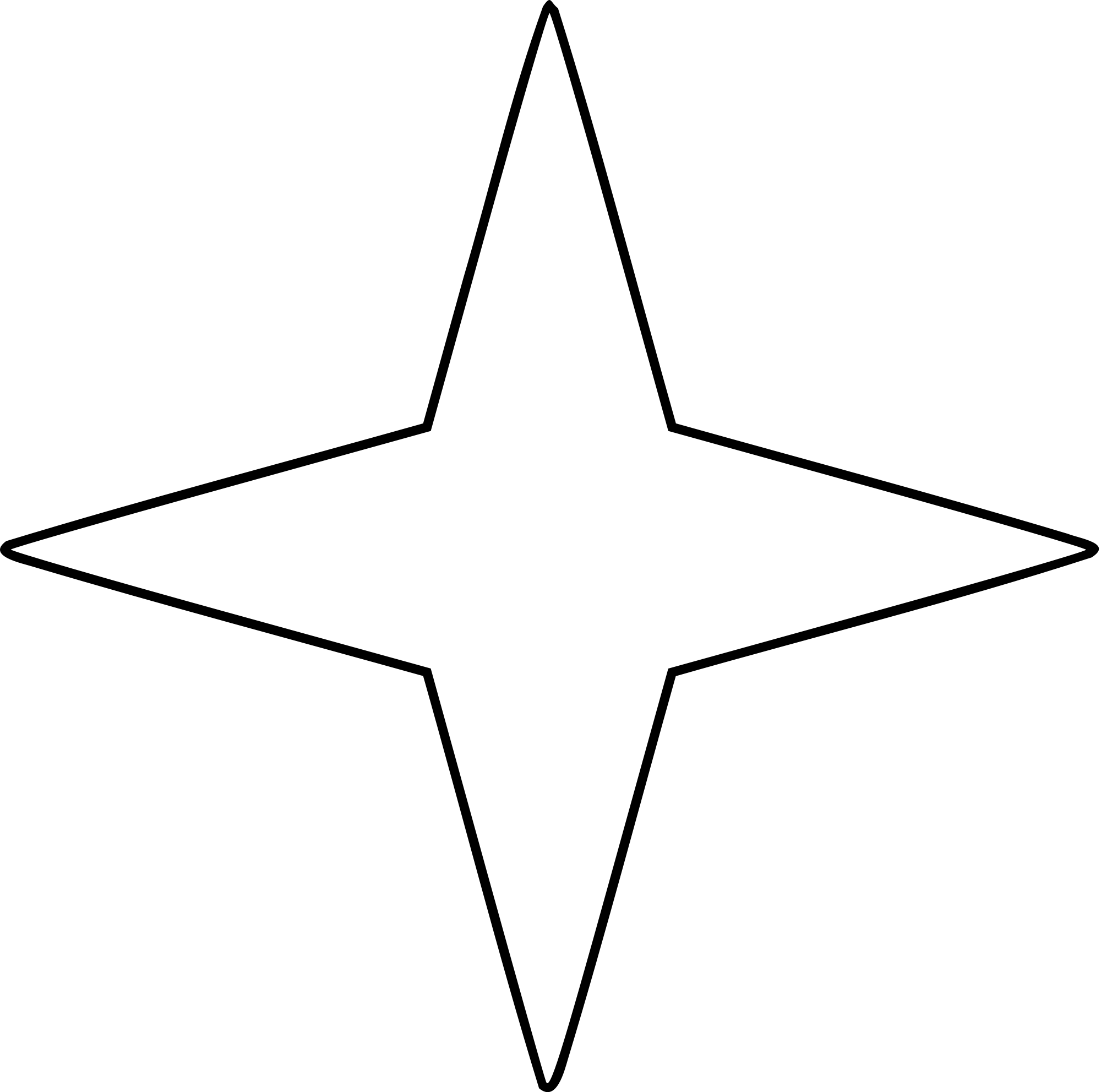 Svg star sided. File four points wikimedia