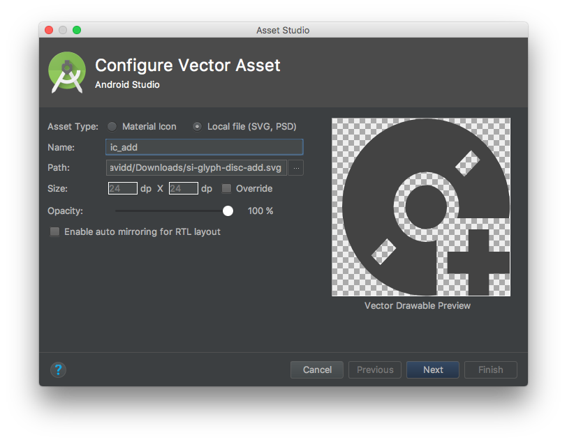 Svg studio drawable. My experience with vector