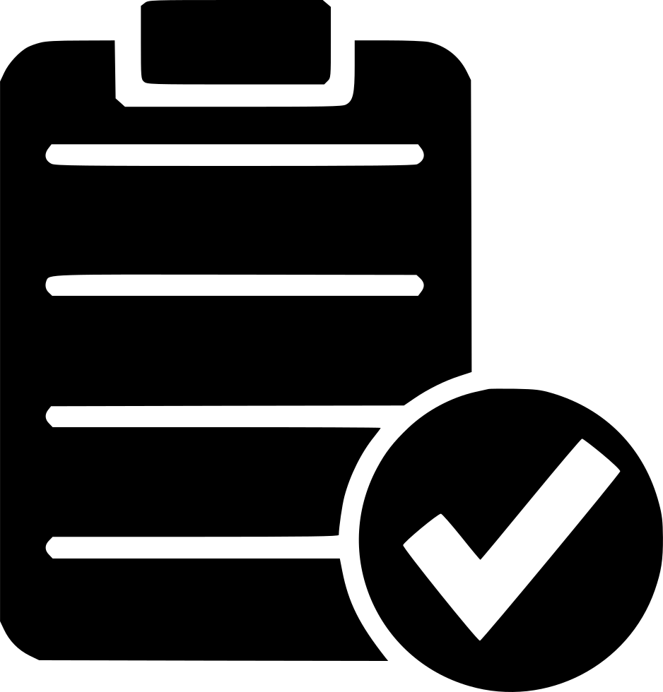 Check list ok form. Svg test file png library library