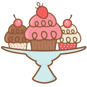 Muffin svg cartoon. Daily freebie miss kate