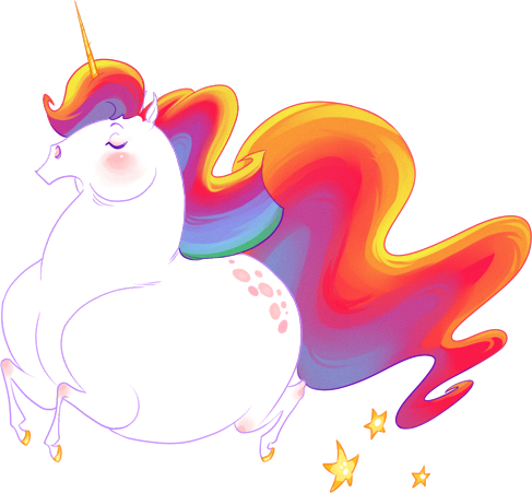 Svg unicorn fat. Narwhal banner freeuse