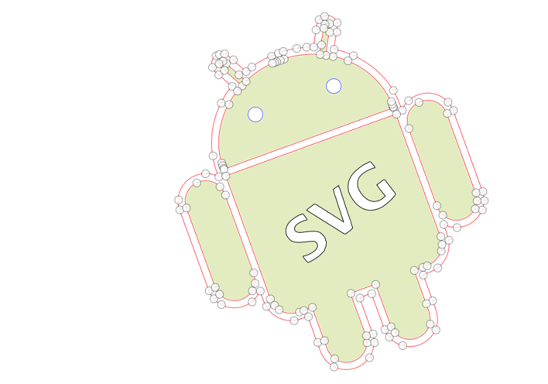 graph transparent svg