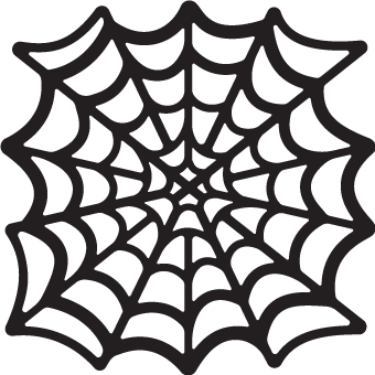 Svg web cobweb. Spider silhouette at getdrawings