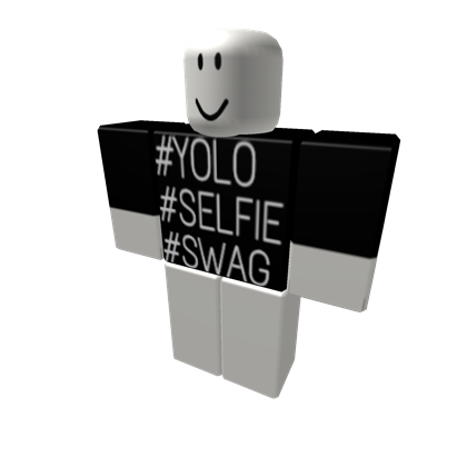 swag transparent selfie