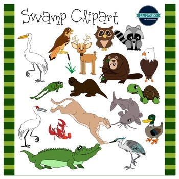 Swamp clipart marsh. L e designs by