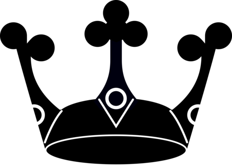 Swan clipart crown silhouette. Computer icons manga clip