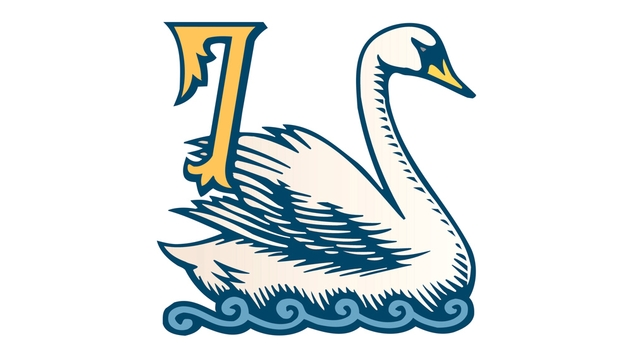 Swan clipart swimming. The twelve days of