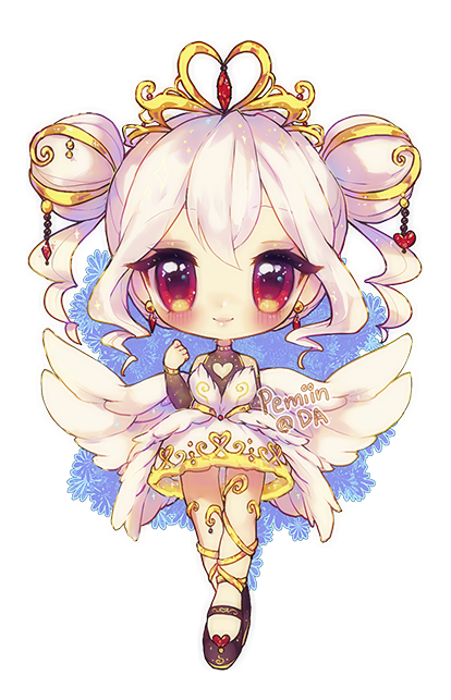 Swan transparent cute. Day mute by yamio