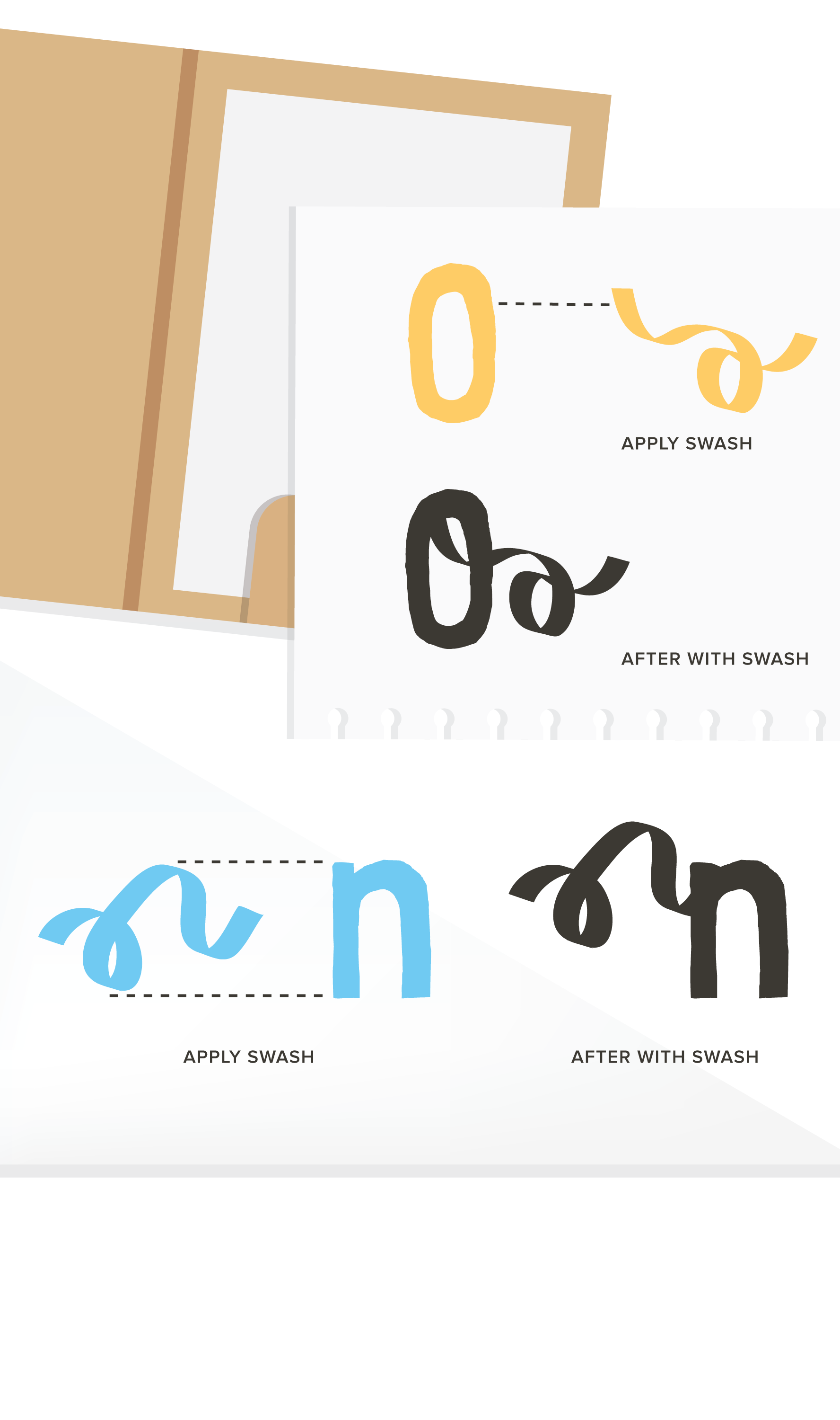 Swash vector illustrator. The collection on behance