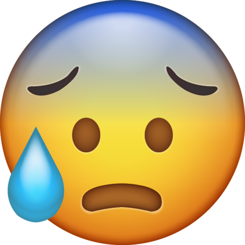 Sweat emoji png. Download cold iphone icon