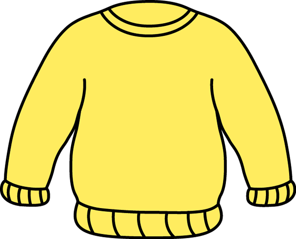 Cardigan drawing jumper. Sweater clip art images
