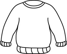 Sweatshirt clipart school jumper. Ugly christmas sweater coloring