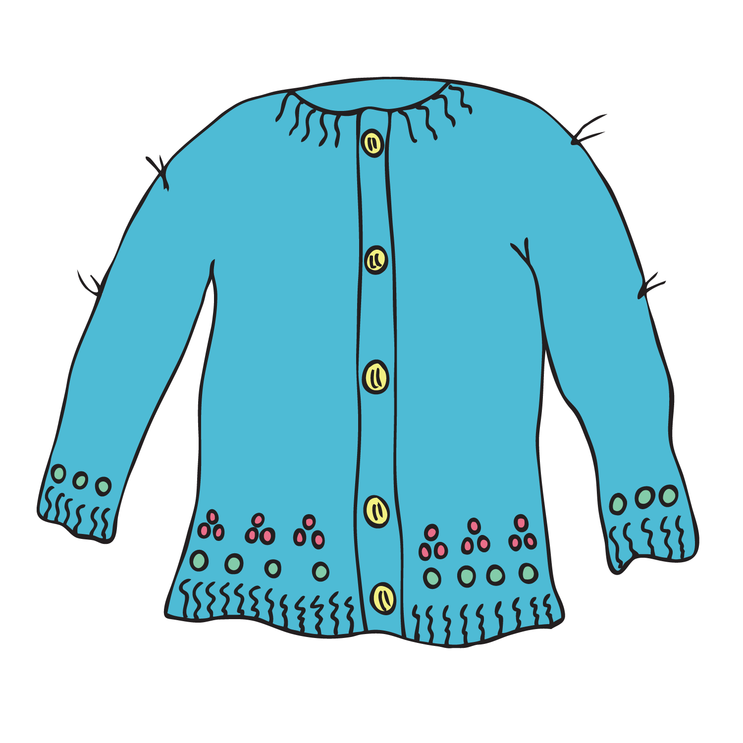Sweater clipart light blue. Free download best on