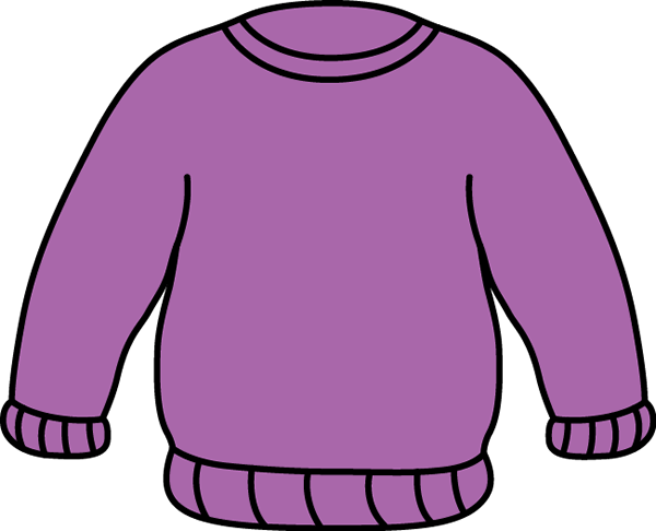 Sweater clipart sweat shirt. Clip art images purple