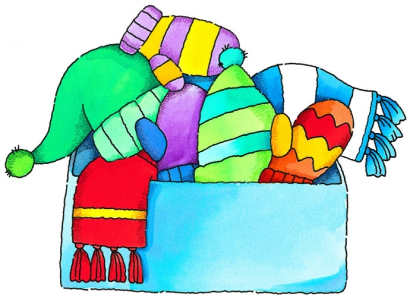 Sweater clipart warm clothes. Winter jacket at getdrawings