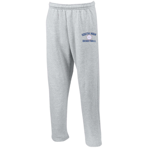 Sweatpants vector. Pants fanraise basketball logo