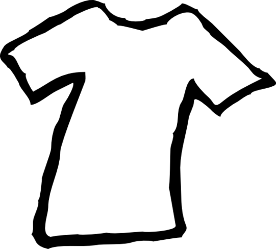 Clothing clip different. Free white cliparts download