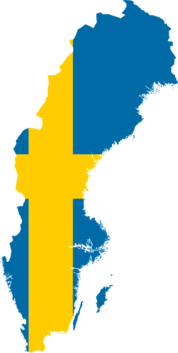 Sweden flag png. Image map the next