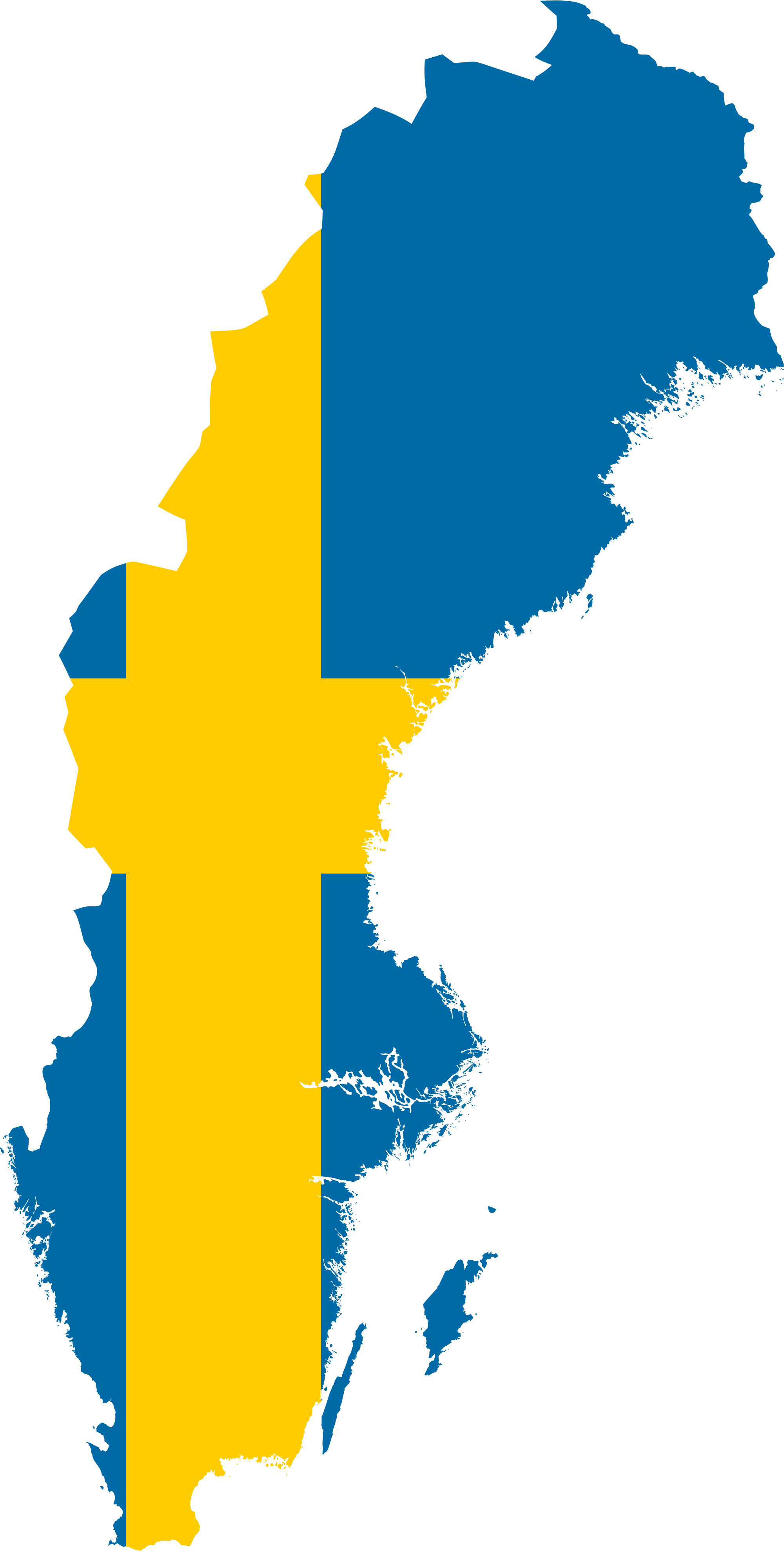 Swedish flag png. File map of sweden