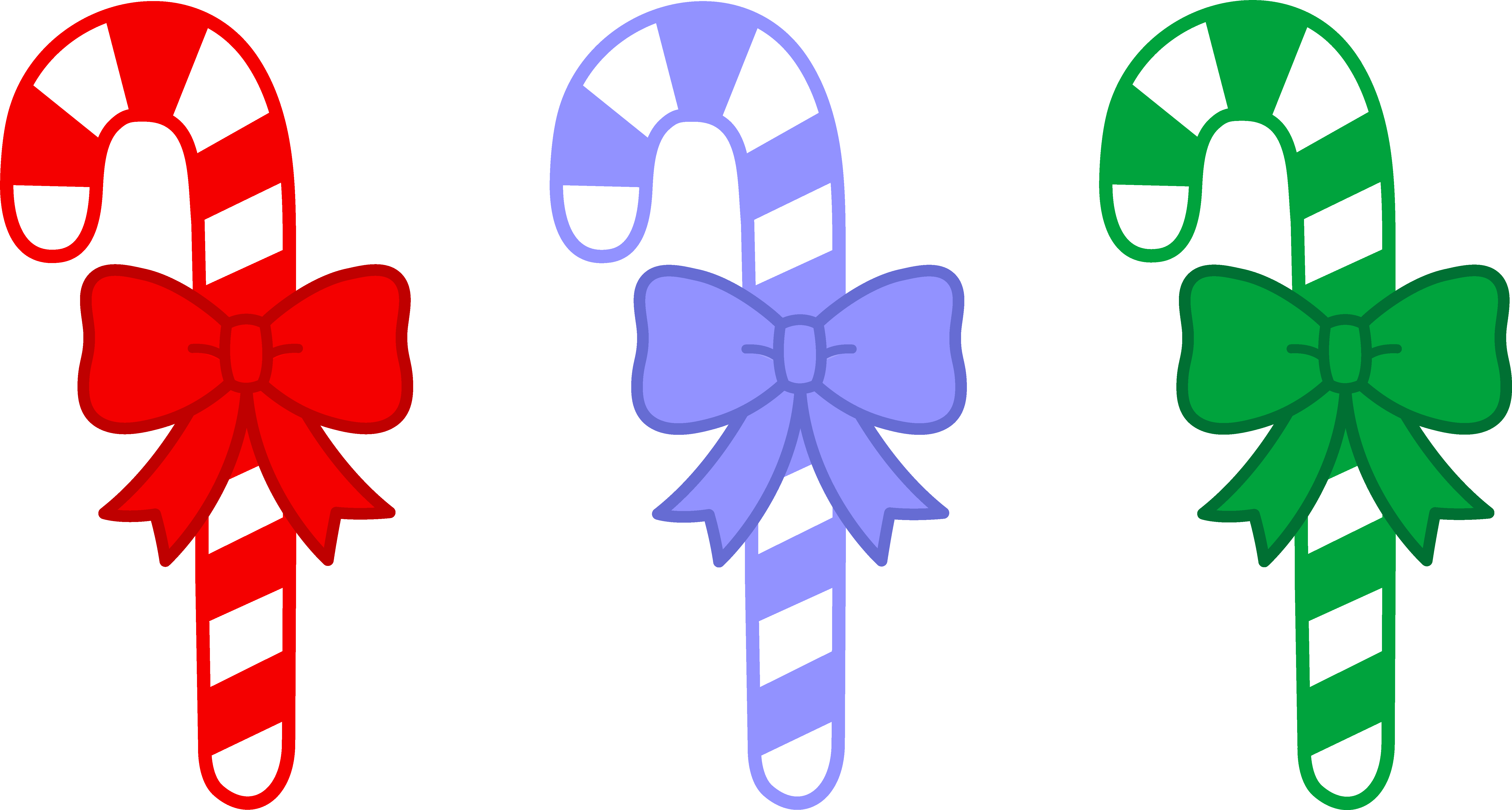 Sweet clipart border. Three candy canes with