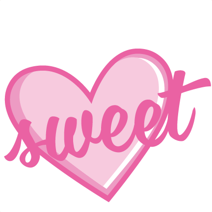 Sweets clipart love heart. Free clip art