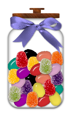 candy jar png