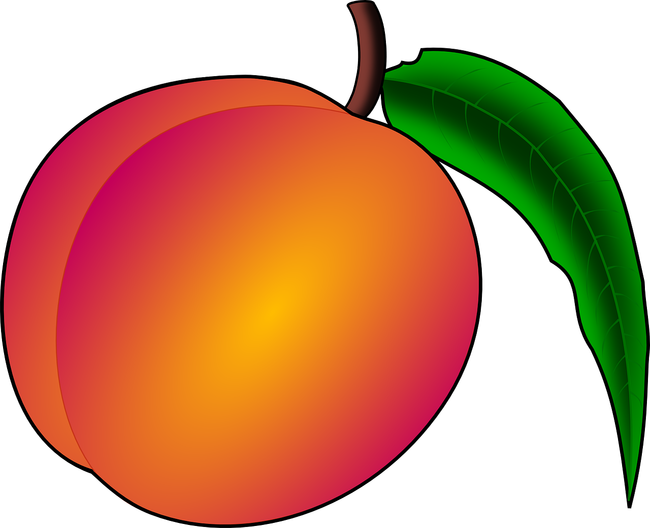 Red nectarine