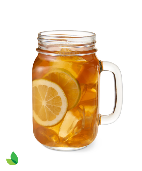 Transparent tea sweet. Recipe with truvia nectar
