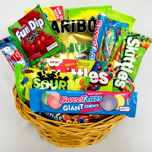 Sweets clipart candy basket. All types of candies