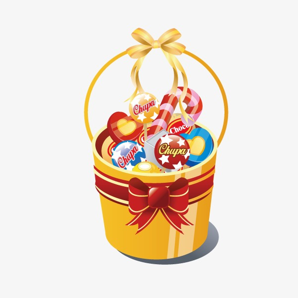 Sweets clipart candy basket. Sweet vector png and