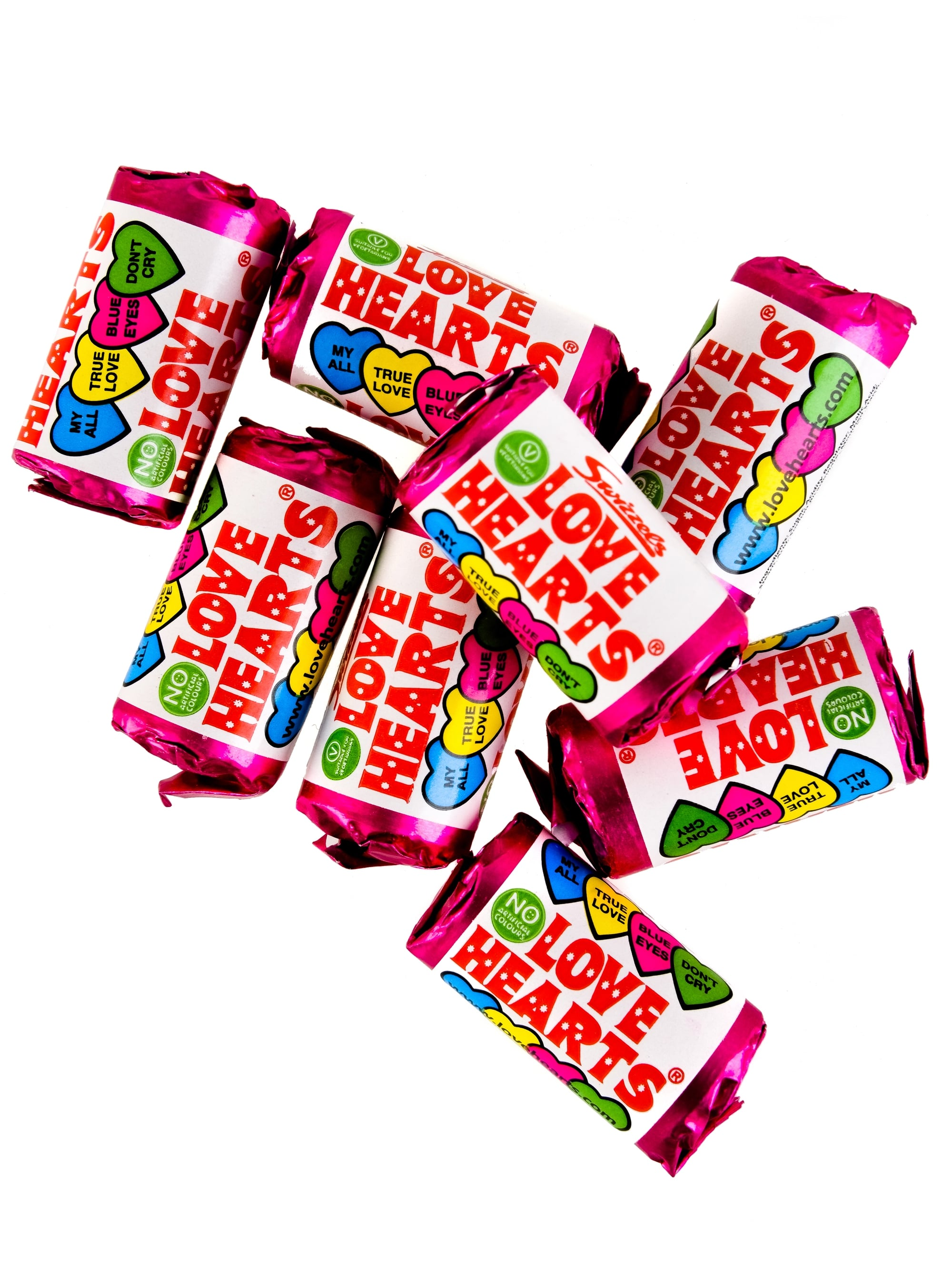 Sweets clipart love heart. Party bag filler x
