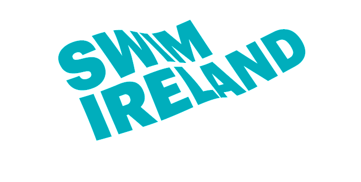 Swim drawing breaststroke swimming. Irish swimmers in search