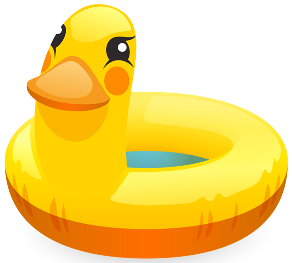 Swimming clipart png. Duck ring clip art