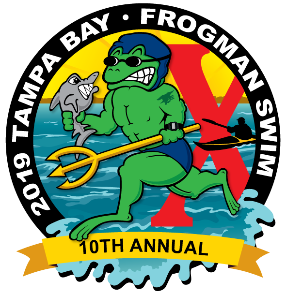 tampa bay frogman. Swimming clipart swimming race jpg free library