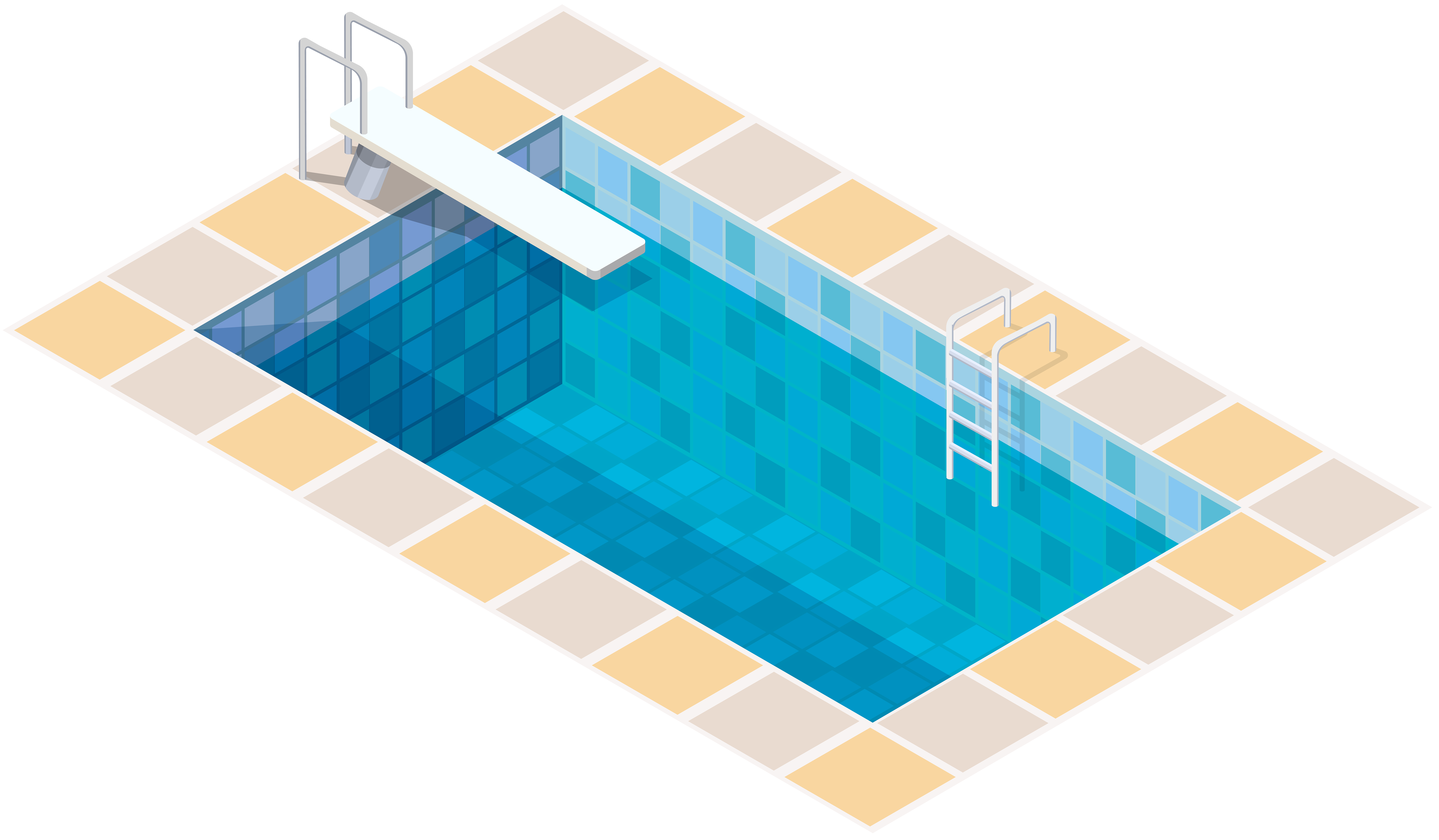 Swimming pool clipart png. Clip art best web