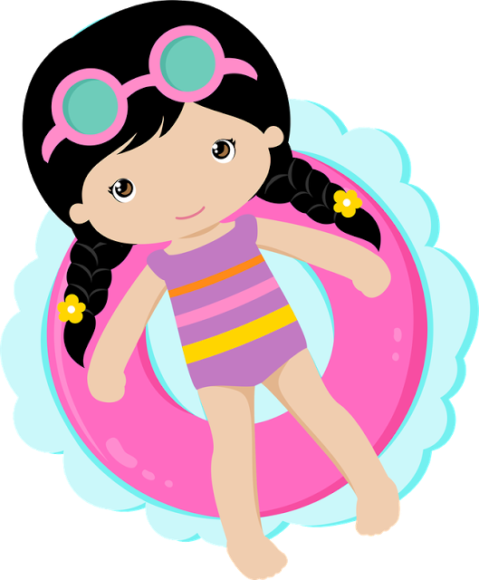 Swimming pool clipart png. Party drawing clip art
