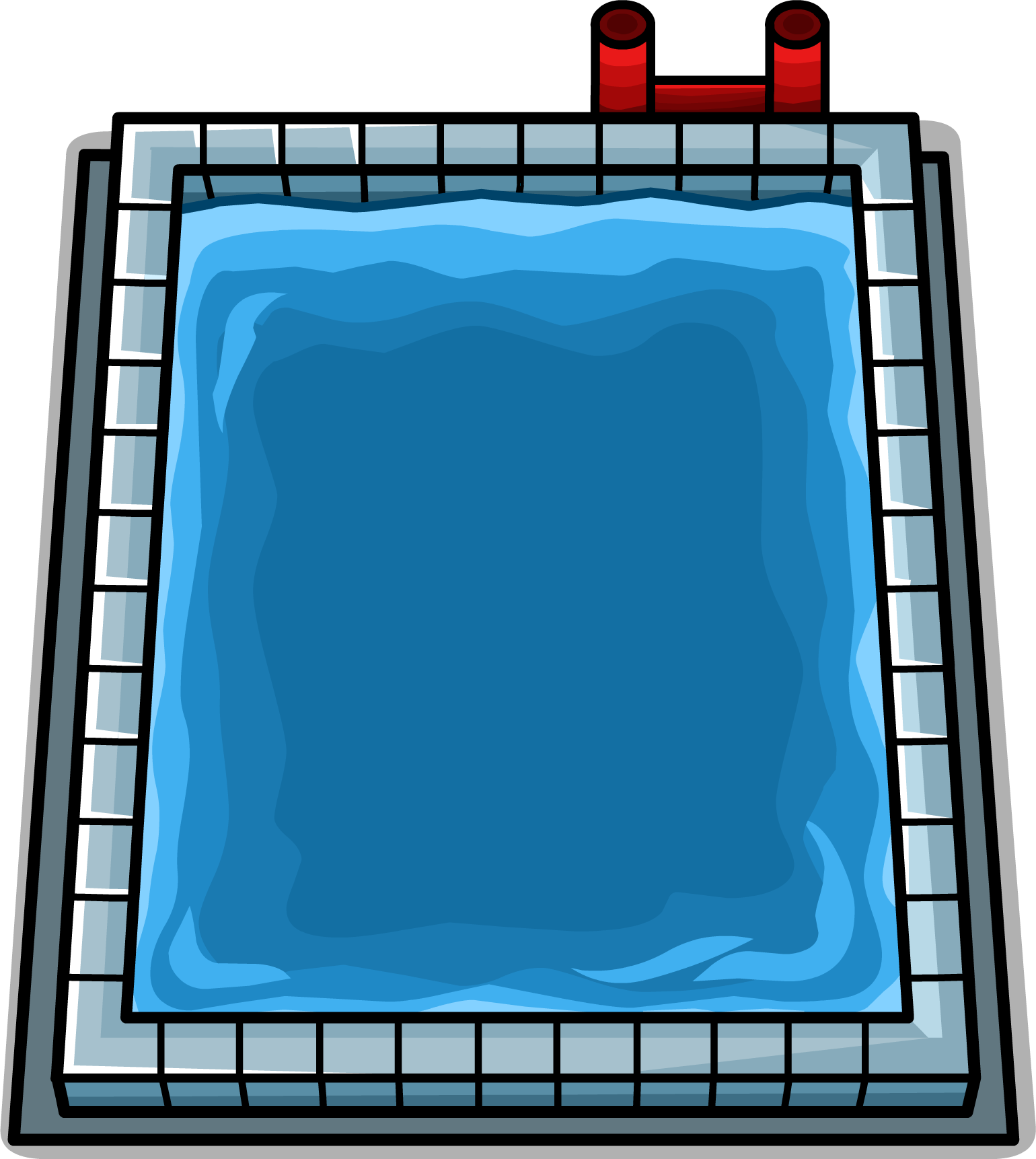 Swimming pool clipart png. Image sprite club penguin