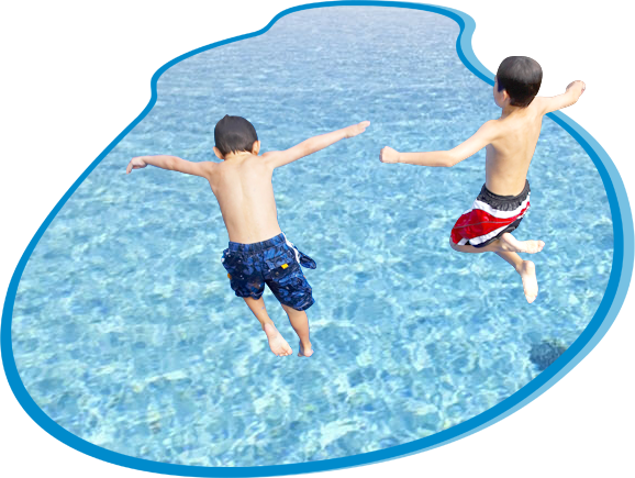 Swimming pool png. A z service services