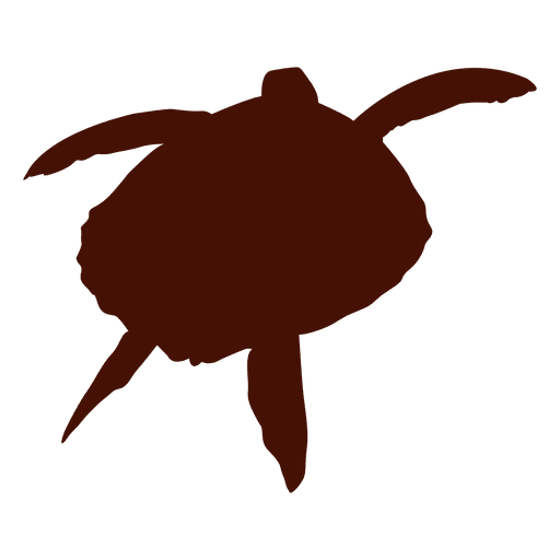 Swimming silhouette png. Turtle tortoise transparent svg