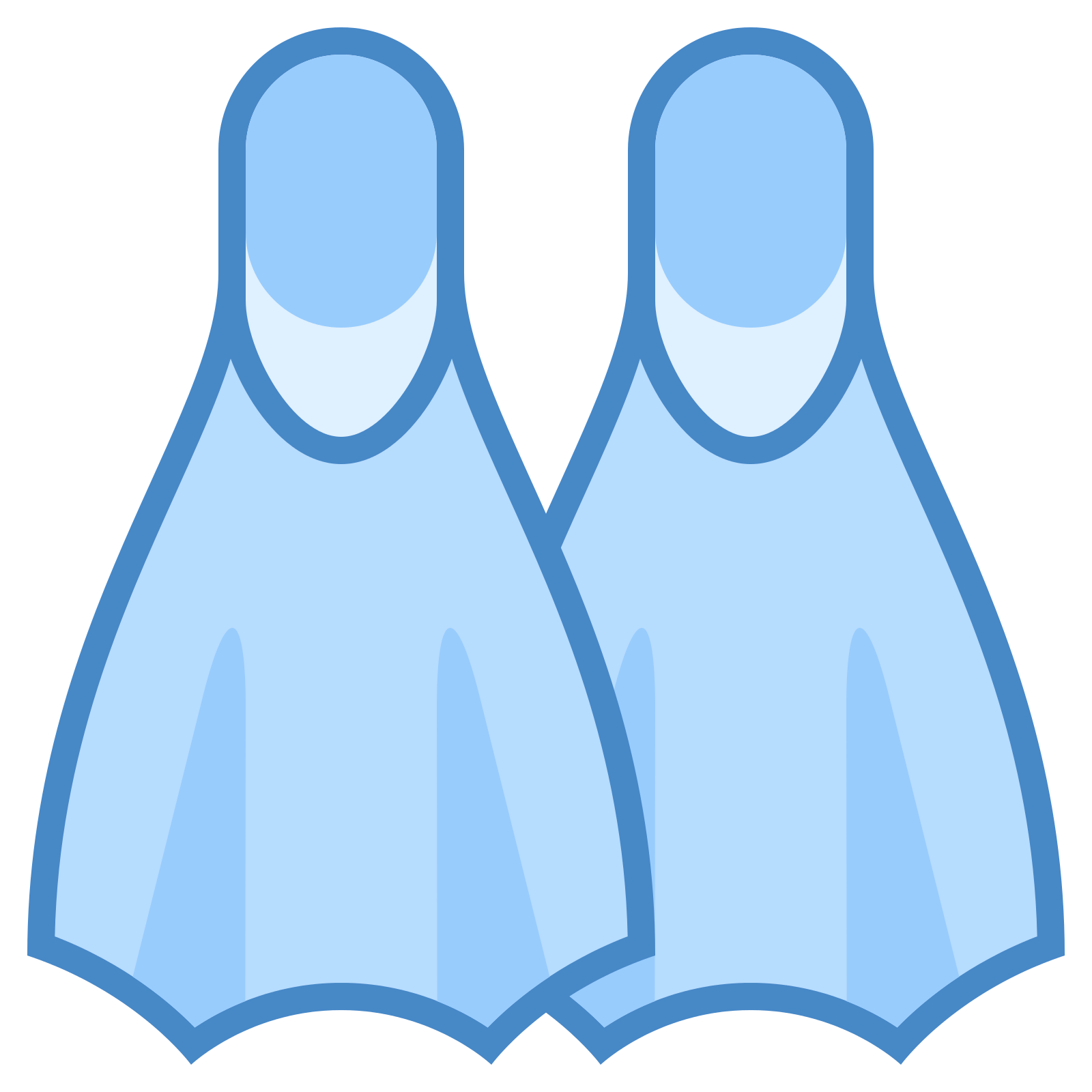 Swimming transparent 24 foot. Flippers png image purepng