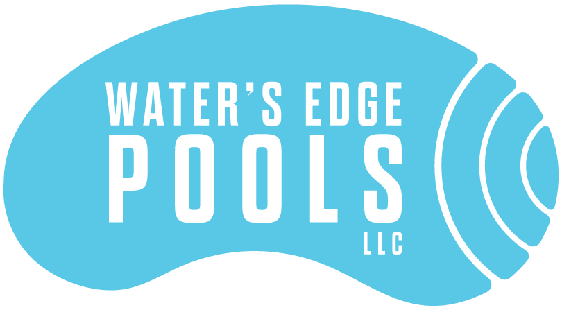 Swimming transparent acrylic edge. Services water s pools