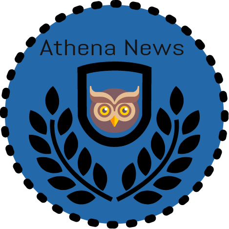 Swimming transparent athena. News this week on