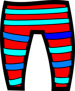 Swimsuit clipart pants. Clip art at clker