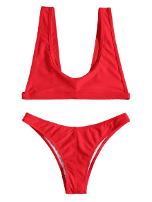 Swimsuit drawing bralette. Off scoop neck