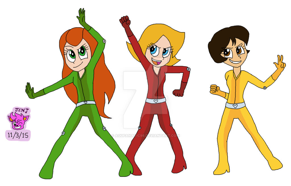 Swimsuit drawing totally spies. Equestria girls style by