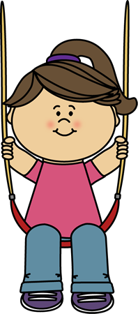 swing clipart boy