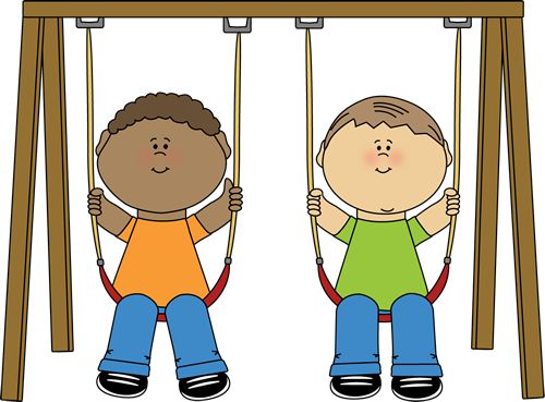 Swing clipart school playground. Best layouts graphics