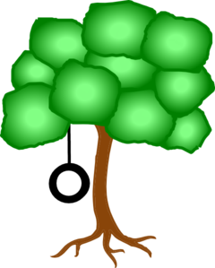 Swing clipart tree swing. Free cliparts download clip